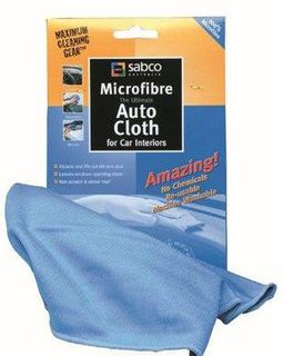 SABCO MICROFIBRE AUTO INTERIOR CLOTH