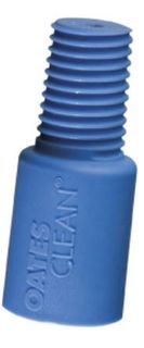 OATES THREADED ADAPTOR BLUE FITS 22MM