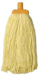 OATES DURACLEAN MOP HEAD YELLOW 400G