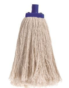 SABCO CONTRACTOR POLYCOTTON MOP HEAD 600G