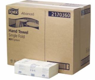 TORK ADVANCED HAND TOWEL SINGLE FOLD H31  150 SHEETS
