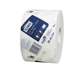 TORK ADVANCED TOILET PAPER JUMBO JNR ROLL T21115  2PLY