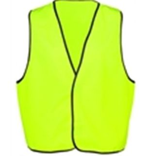 EDCO SAFETY VEST YELLOW DAY USE L