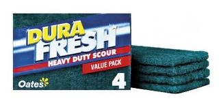 OATES DURAFRESH HEAVY DUTY SCOURER 4PK