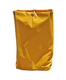 EDCO JANITORS CART YELLOW BAGS