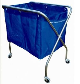 EDCO METAL FRAME SCISSOR TROLLEY WITH BAG (2 ONLY)
