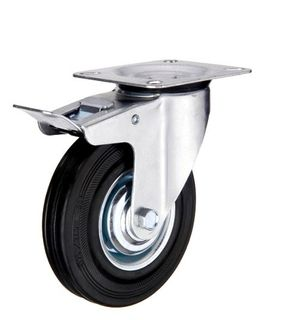EDCO ROOM SERVICE TROLLEY  WHEEL SIDE BRAKE