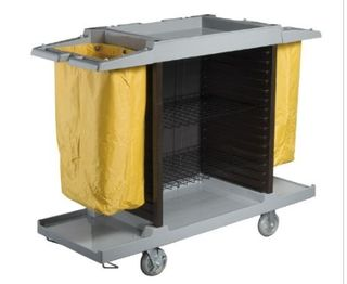 OATES ROOM SERVICE TROLLEY GREY