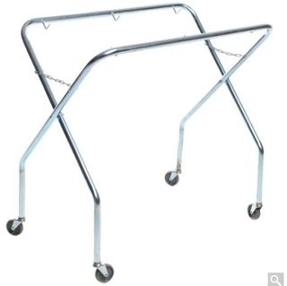 SABCO SCISSOR TROLLEY FRAME ONLY WITH WHEELS