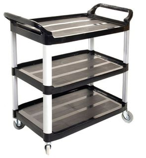 SABCO UTILITY CART (3 SHELF)