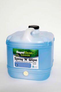 RAPID SPRAY N WIPE 140410  15LT