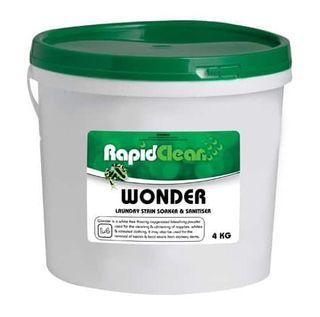 RAPID WONDER LAUNDRY STAIN SOAKER & SANITISER BUCKET 140240 4KG