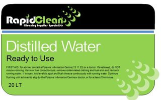 DISTILLED WATER 20LT