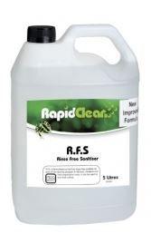 RAPID R.F.S. RINSE FREE SANITISER 140490  5LT
