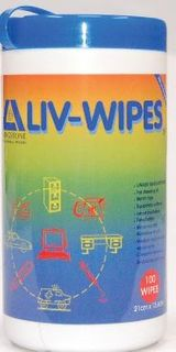 LIVWIPES 12 X 75 (42CM X 14.3CM)