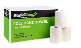 RAPID ROLL PAPER HAND TOWEL 80M