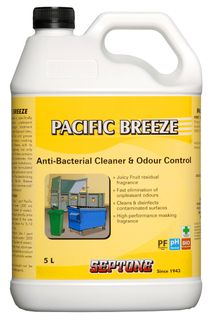 SEPTONE PACIFIC BREEZE A/BAC CLEANER & ODOUR CONTROL 5L