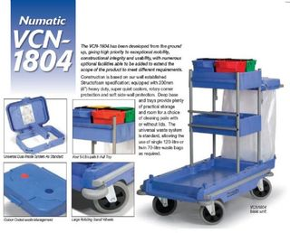 INTERVAC TROLLEY JANITORIAL