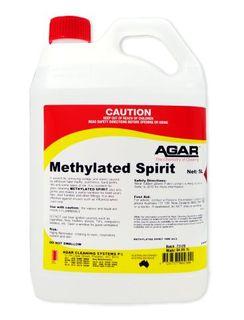 AGAR METHYLATED SPIRIT 5LT