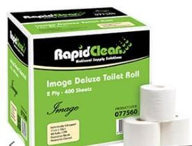 RAPID IMAGE DELUX TOILET TISSUE 400 SHEET X 48 ROLL
