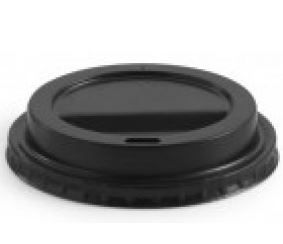 TAILORED PACAKGING LID TO SUIT 12OZ & 16OZ TWC (WHITE OR BLACK) 1000 PER CTN