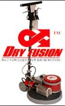 DRY FUSION CARPET CLEANING SYSTEM MACHINE