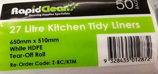 TAILORED PACKAGING SINGLE ROLLS KITCHEN TIDY BAGS 27LT