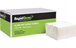 RAPID PAPER HAND TOWEL SLIMLINE INTERLEAVED  22.5x 23CM