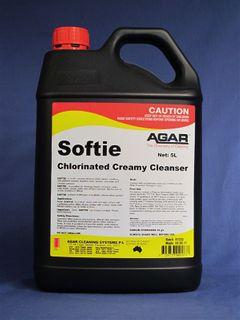 AGAR SOFTIE CREME CLEANSER 5LT