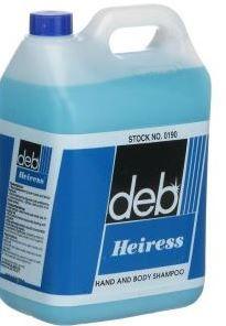 DEB HEIRESS HAND & BODY SHAMPOO 5LT