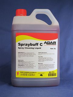 AGAR SPRAYBUFF C 5LT