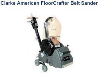 """FLOORCRAFTER BELT SANDER- 8"""" BELT SAND, 230V/50Hz"""