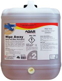 AGAR WIPE-AWAY 20LT