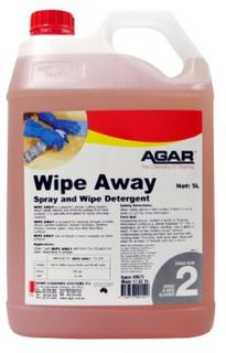 AGAR WIPE-AWAY 5LT