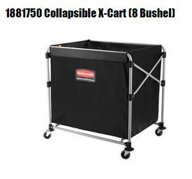 RUBBERMAID COLLAPSIBLE X CART 300L