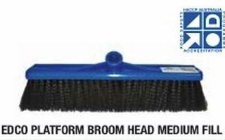 EDCO PLATFORM BROOM HEAD MEDIUM FILL 400MM