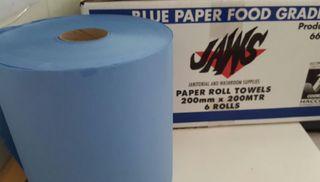 JAWS BLUE AUTOCUT PAPER HAND TOWEL 200M x 200MM
