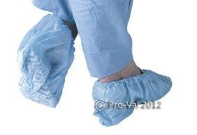 PRO VAL SUREFOOT BLUE PP NON-SKID SHOE COVERS 100PC