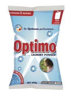 DIVERSEY OPTIMO LAUNDRY POWDER SACHET 60x200g