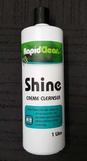 RAPID SHINE CREME CLEANSER 1L 140830