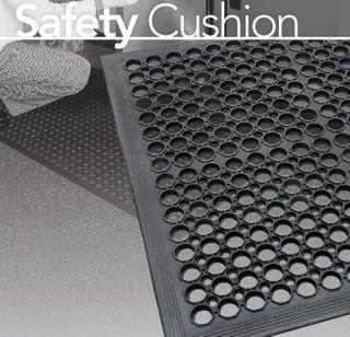 KENWARE SAFTEY CUSHION MAT - CUSTON SIZE BLACK 900M X 3000MM