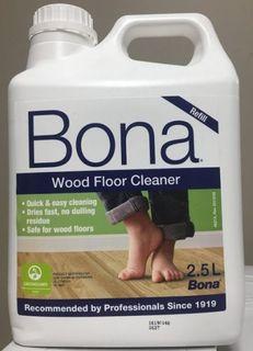 BONA FLOOR CLEANER 2.5LTR 46215