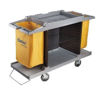 OATES ROOM SERVICE CART LOW GREY