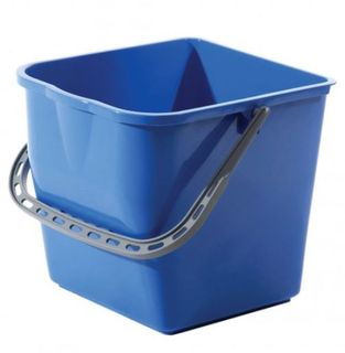 SABCO RECTANGULAR BUCKET 4LT BLUE