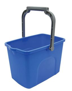 SABCO RECTANGULAR BUCKET BLUE 10LT