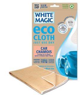 WHITE MAGIC ECO CLOTH CAR CHAMOIS 60 X 40CM
