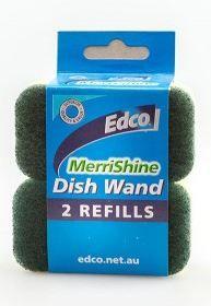 EDCO MERRISHINE DISH WAND 2PK REFILLS
