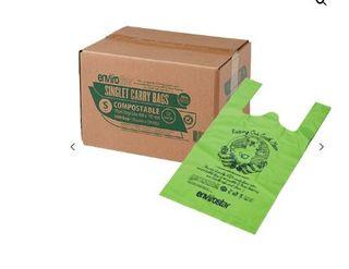 AUSTAR SINGLET BAGS GREEN SMALL 35um