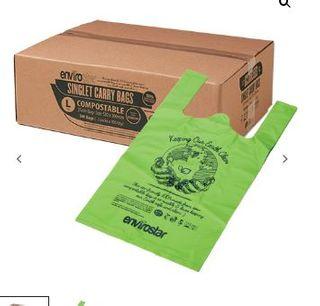 AUSTAR SINGLET BAGS GREEN LARGE 35um