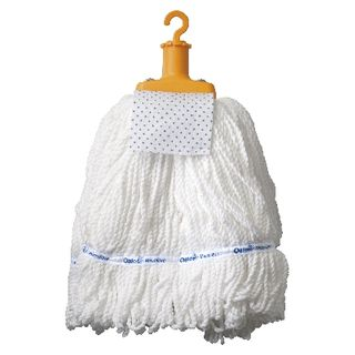 OATES COMMERCIAL MICROFIBRE MOP HEAD 300G YELLOW